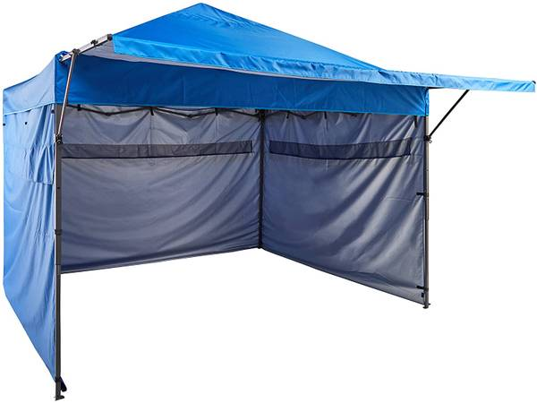 Photo Pop Up Canopy wSidewalls - NEW - $175 (Cookeville)
