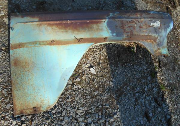 Photo Texas SOLID 1954 Chevy Belair right front fender - $200 (grimsley)