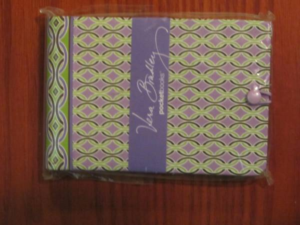 Photo Vera Bradley Pocket Papers Mini Spiral Bound - 192 sheets - $15 (Knoxville)