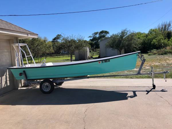 Photo 16 Poling Skiff, Flats Skiff, Technical Poling Skiff ( runs super shallow) - - $6,500 (Corpus ChristiFlour Bluff)