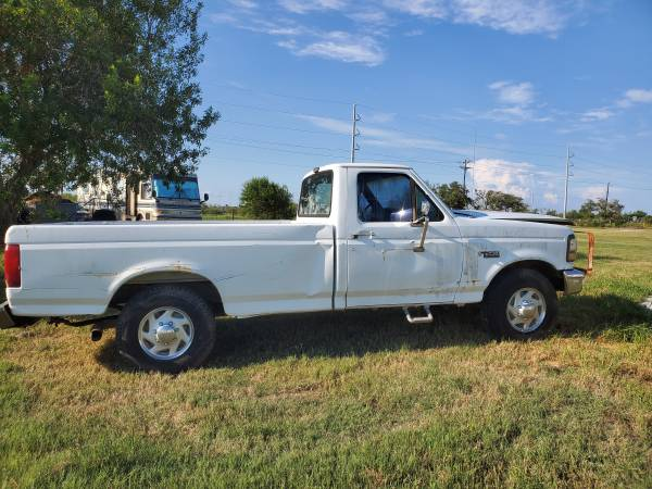 Photo 1993 Ford F250 7.3 Diesel parts only truck - $250 (Rockport)