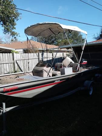 Photo 2004 Fisher 1600 aluminum bass boat - $2,850 (Corpus Christi)