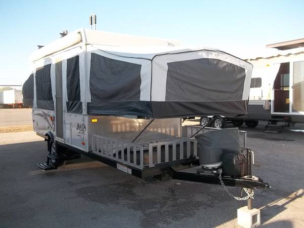 Photo 2012 Jayco Baja pop up with front cargo platform, like new - $13,495 (San Antonio)