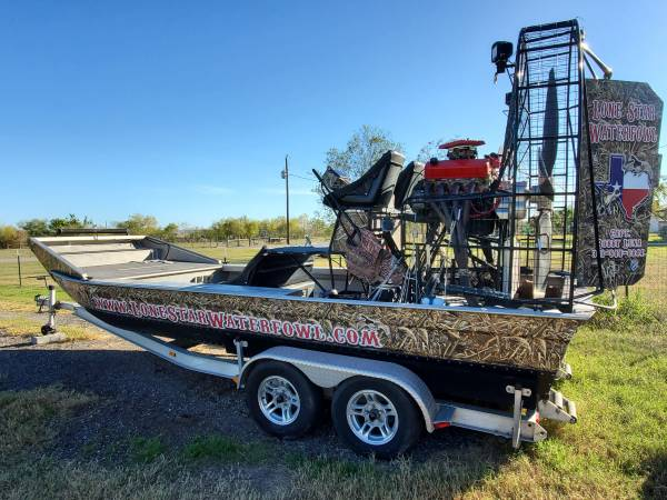 Photo 2014 18ft Airboat - $35000
