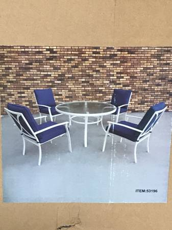 Photo 5-pc. Harrison Outdoor Dining Set - $300 (AirlineSaratoga)