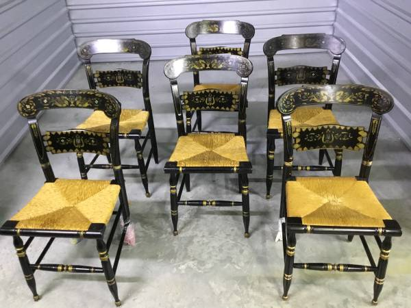 Photo 6 Ethan Allen Hitchcock Chairs - $600 (Aransas Pass)