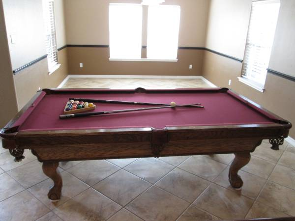 Photo AMERICAN CLASSIC COMPETITION POOL TABLE FOR SALE (Corpus Christi)