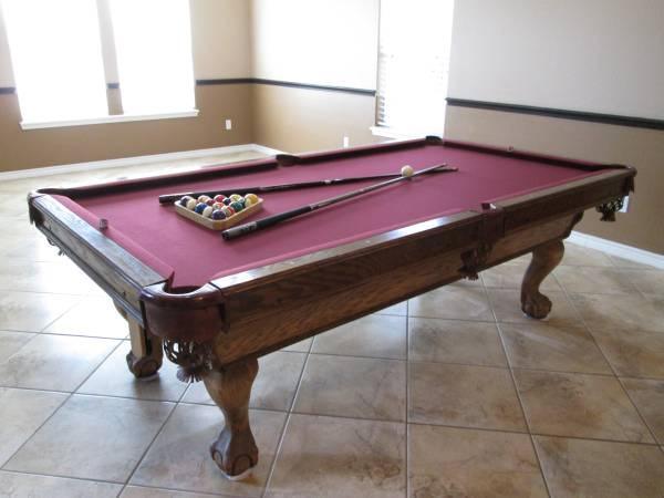 Photo AMERICAN CLASSIC POOL TABLE - $3,500 (Corpus Christi)