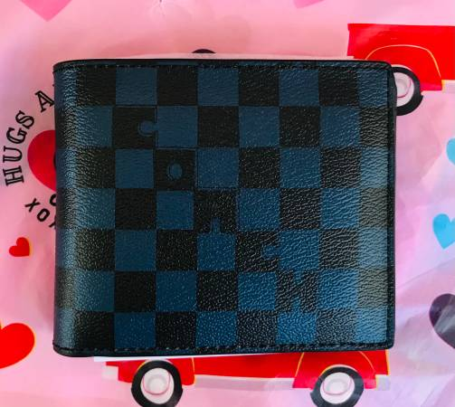 Photo COACH 3-In-1 Wallet With Checker Print - $150 (Southside)