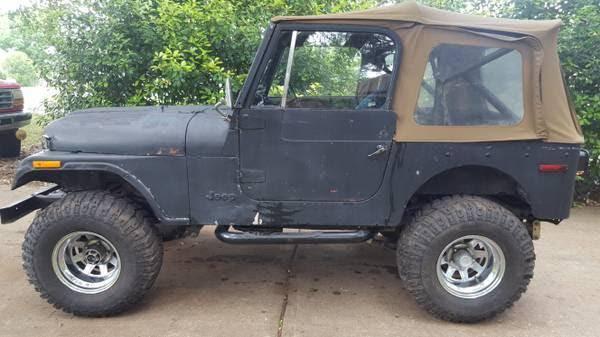 Photo Cj7 jeep parts most will fit cj5  cj81985 Renegade1981 rebuilt jeep (Buda)
