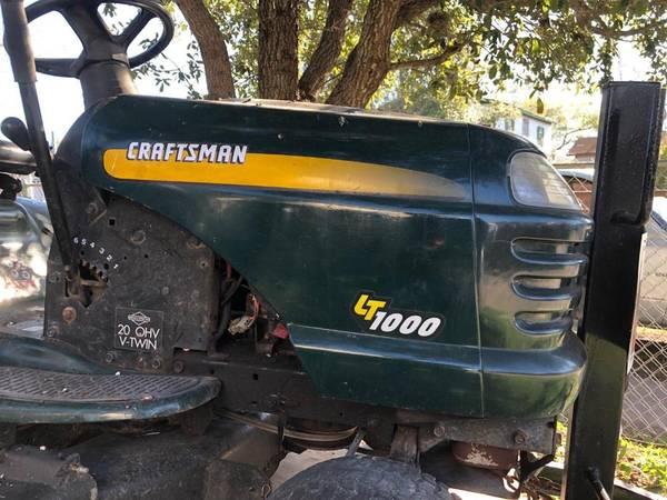 Photo Craftsman Riding Lawnmower WTrailer - $700 (Corpus Christi)