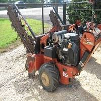 Photo Ditch Witch Walk Behind Trencher RT24 (Gonzales, Tx)