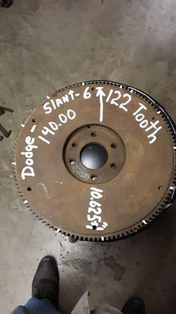 Photo Dodge slant 6 standard shift flywheel - $140 (Lake Corpus Christi)