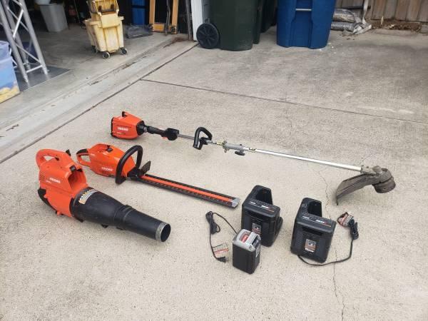 Photo Echo 58V Battery Power Lawn Tools - $280 (Corpus Christi)