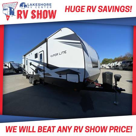 Photo Impact Vapor Lite 29V Toy Hauler RV - BEST PRICE GUARANTEED NO FEES - $34,730