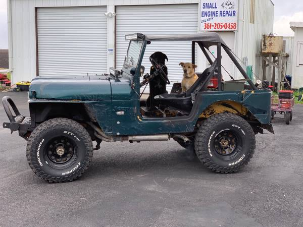 Photo Jeep CJ5 1974 V8 - $5500 (Taft)