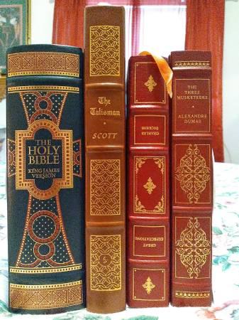Photo KJV Bible(leather bound) Easton press  Franklin Library - $85 (kostoryz The Book Guy)