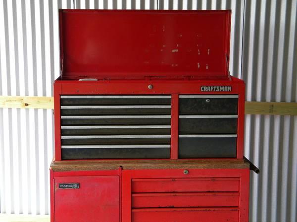Photo Mac Craftsman Matco Tool Box - $500 (Odem)