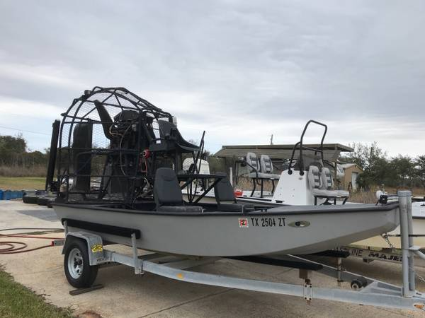 Photo New boat on the way - Selling my Air Boat - $12,000 (Rockport)