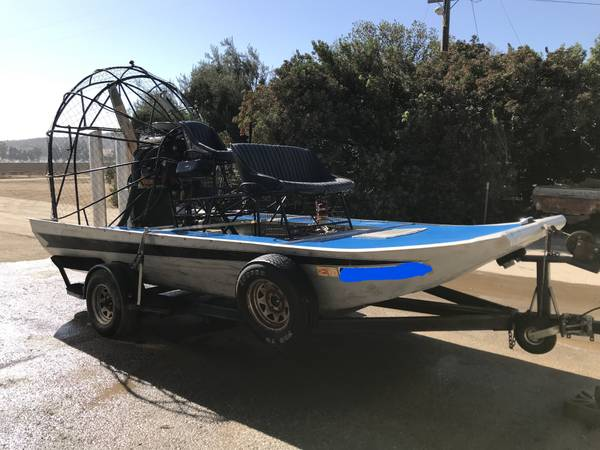 Photo Panther Airboat 1988 - $8200 (King City,CA)