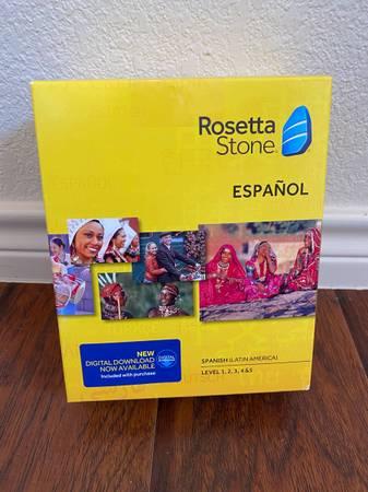 Photo Rosetta Stone Spanish - $100