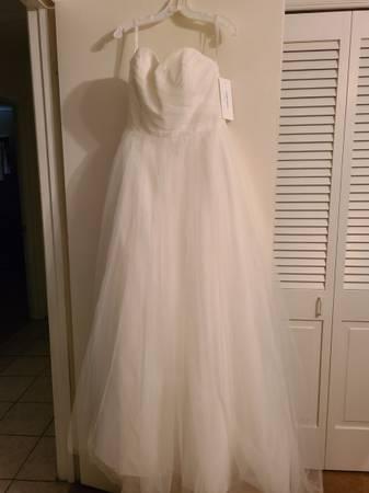 Photo Tulle Wedding Dress Size 12 - $350 (Portland, Tx)