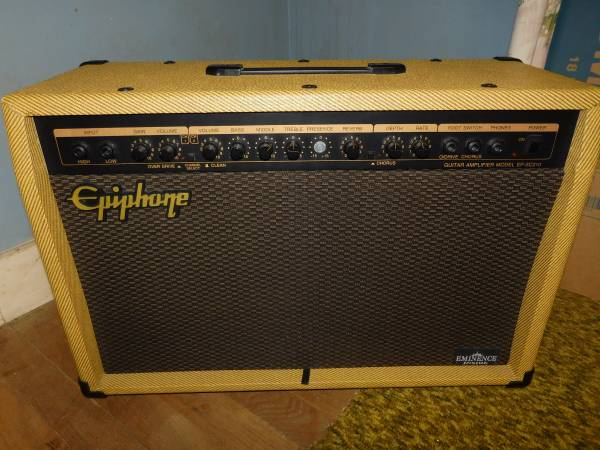 Photo Vintage Epiphone EP SC-210-2 Channel-30W-2x10-Solid State Guitar Amp - $225 (Bishop)