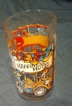 Photo Vintage McDonalds 1981 The Great Muppet Caper Happiness Hotel Glass - $4 (Sinton)