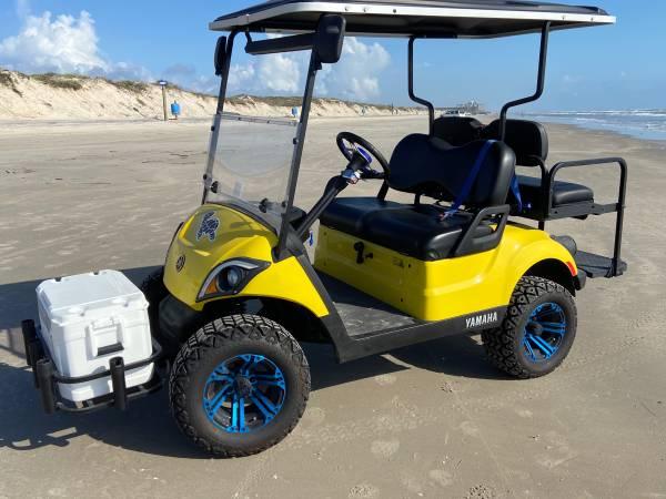 Photo Yamaha custom golf cart - $8,100 (Corpus Christi)