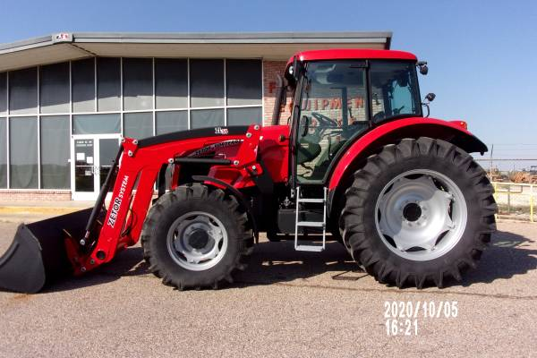 Photo Zetor Tier-3 118HP Tractor with Cab and Loader - $66,000 (Temple)