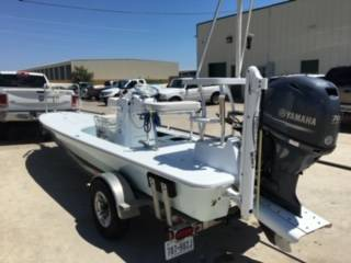 Photo shallow water poling skiff - $26,500 (Corpus Christi)