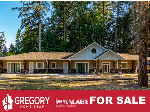 Photo 1.45 acres of custom-built beauty. This 6 bed, 3 bath home was built (1340 Shady Ln NW Albany, OR)