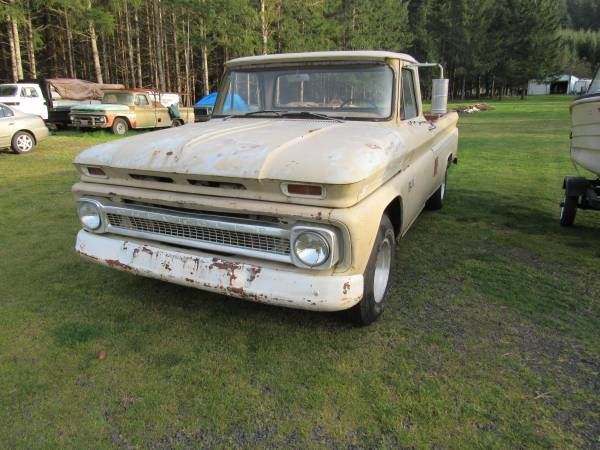 Photo 1966 Chevy C10 Pickup - Long Bed - $4,000 (SWEET HOME)
