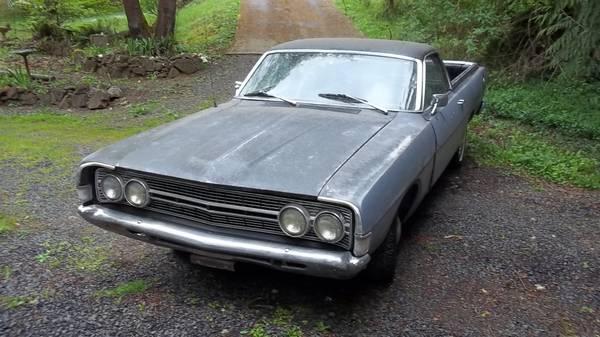 Photo 1968 Ford Ranchero - $3500 (Sodaville)