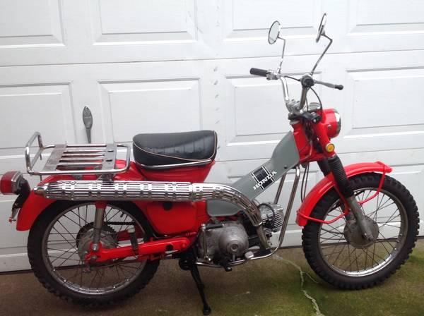 Photo 1969  1970 Honda Trail Bikes Ct-90s - $1 (SW Albany)