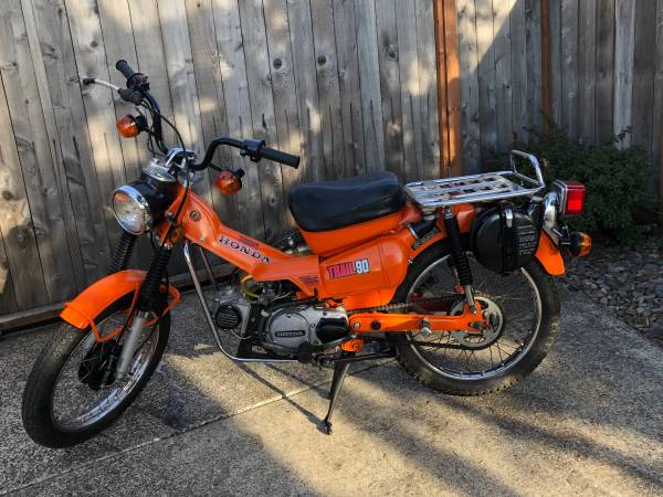 Photo 1979 Honda Trail CT 90 - $2,450 (SW ALBANY)