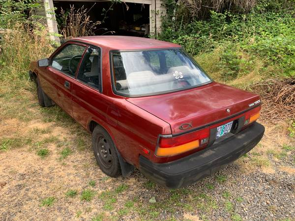 Photo 1990 Toyota Tercel for parts - $450 (SW Albany)