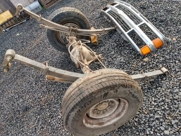 Photo 1994 Chevy rear axle and 63quot springs - $150 (Lebanon)