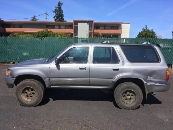 Photo 1994 Toyota 4Runner 22RE SR5 - $4200