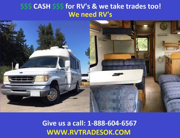 Photo 1997 Chinook Premier - Also Born Free, Roadtrek, Pleasure-Way - $19995 (30 small rv39s to choose from)