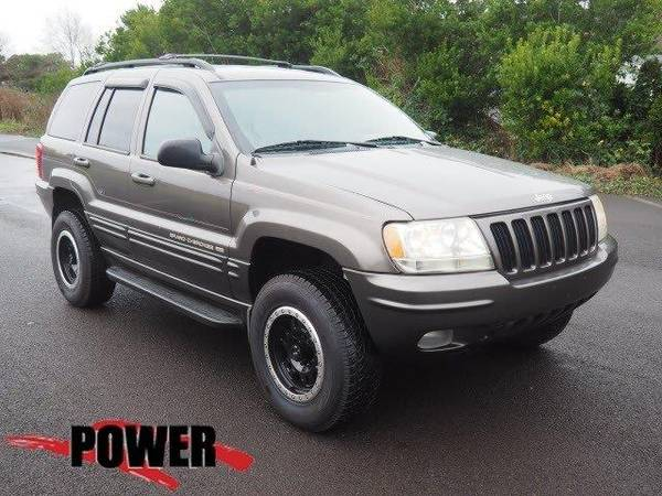 Photo 1999 Jeep Grand Cherokee SUV Limited - Gray (Jeep_ Grand_ Cherokee_ SUV_)