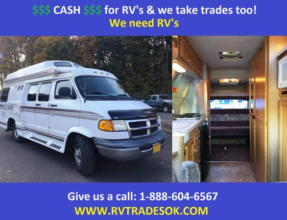 Photo 1999 Pleasure-Way - also Roadtrek, Chinook, Born Free - $26995 (30 small rv39s to choose from)