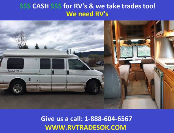 Photo 2002 Roadtrek - Also Born Free, Pleasure Way, Chinook - $29995 (30 small rv39s to chose from)