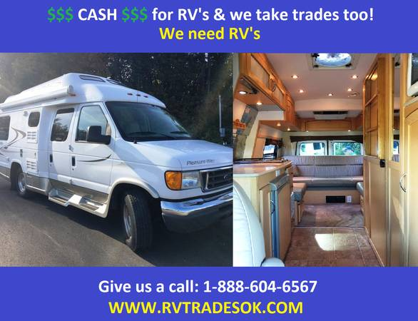 Photo 2007 Pleasure Way - Also Roadtrek, Born free, Chinook - $42777 (30 small rv39s to choose from)