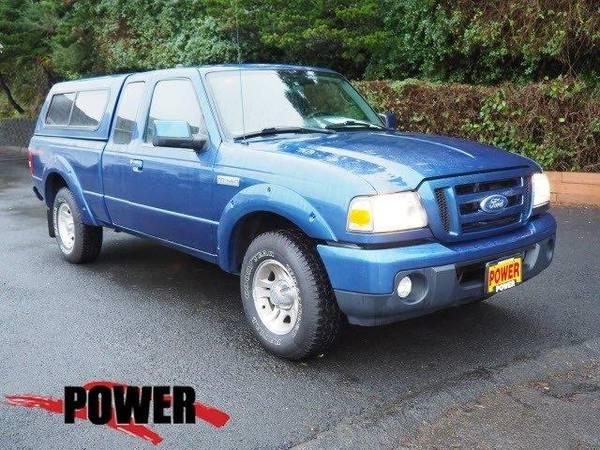 Photo 2010 Ford Ranger truck Sport - Blue (Ford_ Ranger_ truck_)