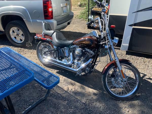 Photo 2010 Harley Davidson Softail Custom - $14,000 (Madras)