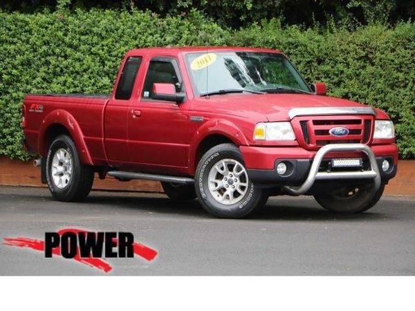 Photo 2011 Ford Ranger truck Sport - Red (Ford_ Ranger_ truck_)