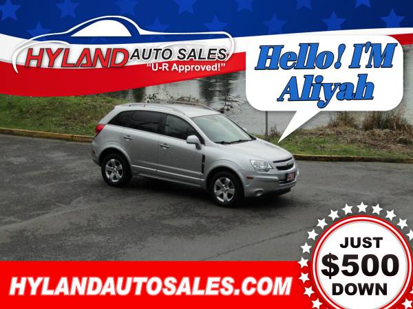 Photo 2012 CHEVY CAPTIVA LT SPORTLEATHERHYLAND AUTO SALES - $8745 (BUY-HERE, PAY-HERE DONE RIGHT)