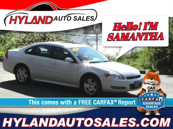 Photo 2015 CHEVY IMPALA WE ARE OPEN ONLY $500 DOWN  HYLAND AUTO SALES - $10,495 (HELPING FOLKS WITH BAD CREDIT IS WHAT WE DO)