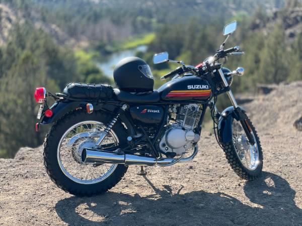 Photo 2018 Suzuki TU250X - $4,900 (Bend)